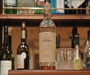 Bottle of Whisky - Oban - Hotel bar