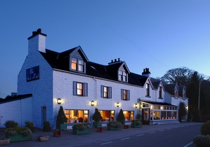 The Airds Country House hotel, in Argyll, Scotland