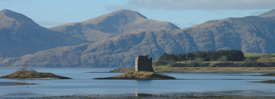 Castle Stalker - things to see on the West Coast of Scotland