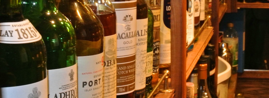 Enjoy a Whisky from our wide selection in our hotel bar
