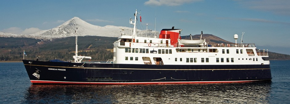 Hebridean Cruise and Stay packages on the Hebridean Princess