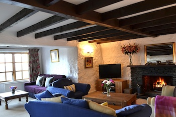 Lounge in Old Smithy Luxury Holiday Cottage