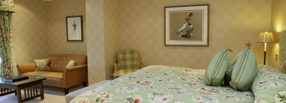 Family Suite in The Airds Hotel - a luxury hotel near Oban, Argyll, Scotland