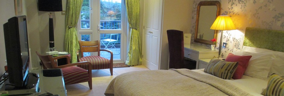 Superior Hotel Room in Argyll at the Airds Hotel