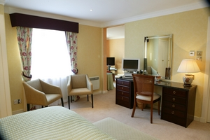 Master Suite in The Airds Hotel - suitable for families - a luxury hotel near Oban, Argyll, Scotland