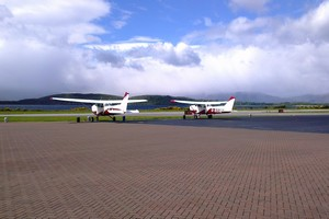 Sightseeing Flights from Oban airport, Argyll, West Coast of Scotland