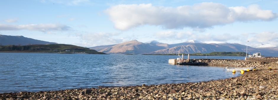 S Airds Hotel Scotland Port Appin pier