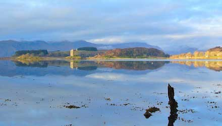 Loch Linnhe reflection