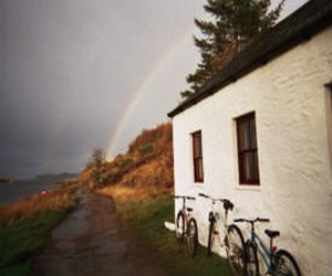 Cycling on the Isle of Lismore, Argyll, Scotland - things to do on a weekend in Argyll