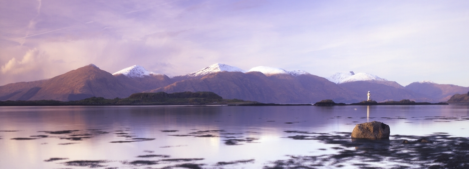 Loch Linnhe in Argyll, West Coast of Scotland